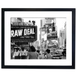 Broadway Victoria showing Raw Deal, New York 1948 Framed Print
