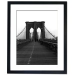 Brooklyn Bridge, New York Framed Print