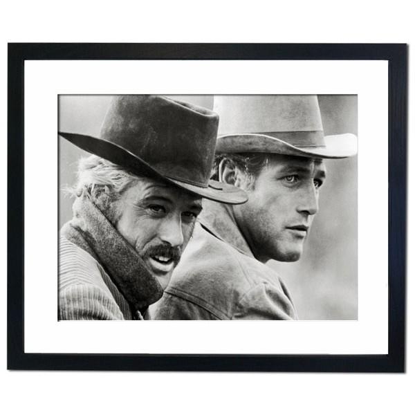 """""""Butch Cassidy and the Sundance Kid"""" 1969 Framed Print"""