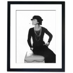 Coco Chanel Framed Print