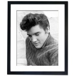Elvis Presley, 1956 Framed Print