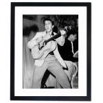 Elvis Presley, Florida 1955 Framed Print