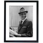 Frank Sinatra, 1957 Framed Print