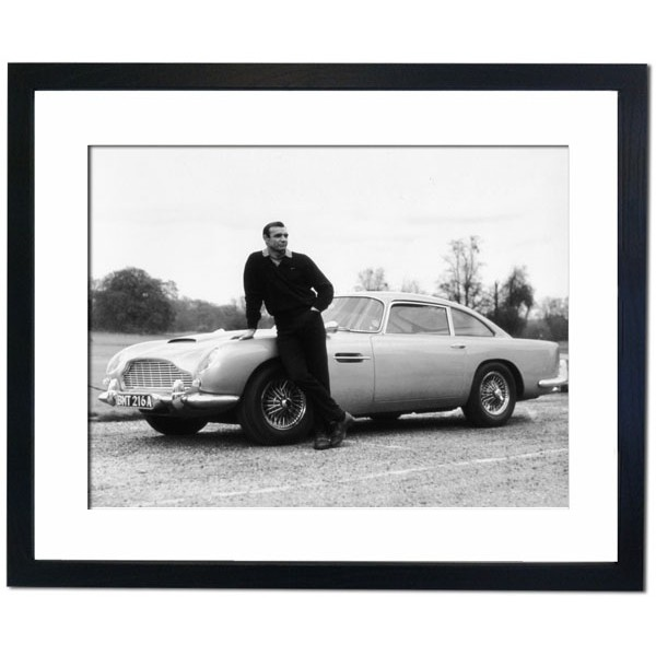 Sean Connery in Goldfinger, 1964 Framed Print