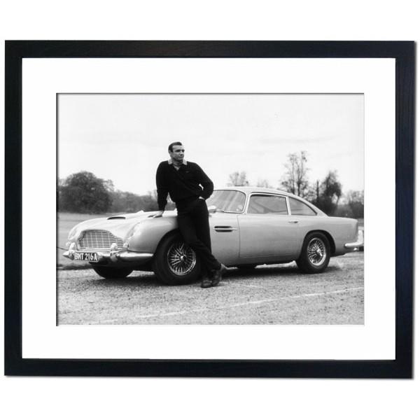 Sean Connery in Goldfinger, 1964 Framed Print