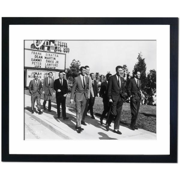 The Rat Pack, 1964 Framed Print