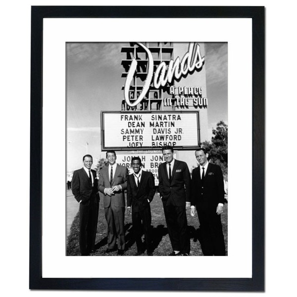 The Rat Pack, 1960 Framed Print