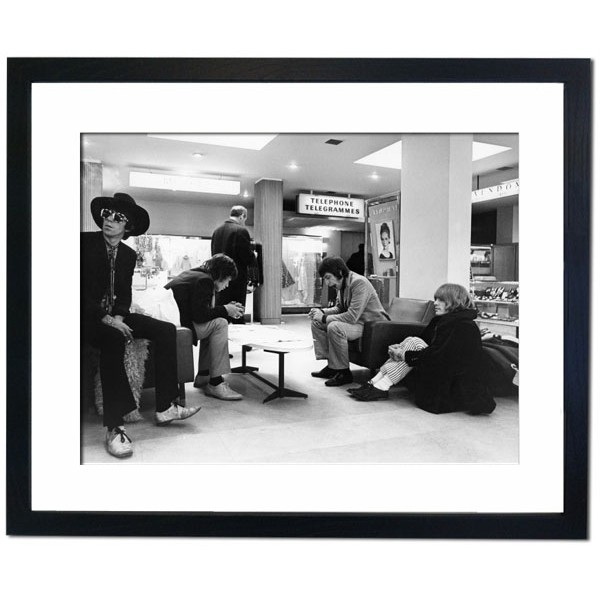 The Rolling Stones, 1967 Framed Print