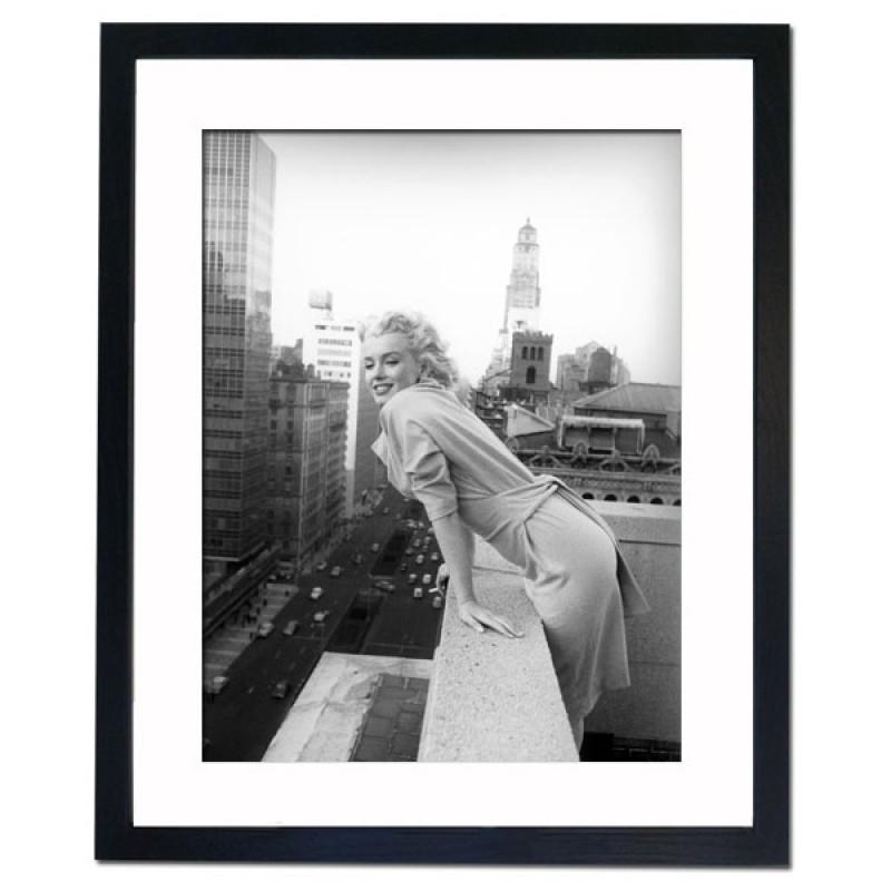 Marilyn Monroe, New York 1955 II Framed Print