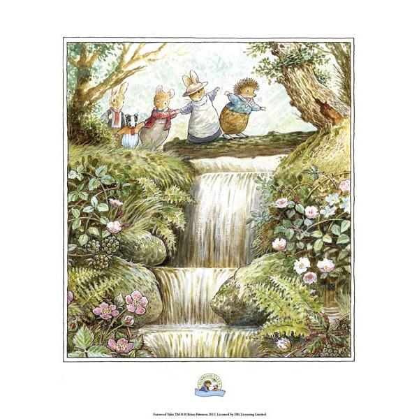Cynthia & Brian Paterson - Waterfall