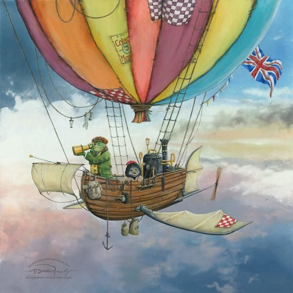 Dale Bowen - Mr Toad and Moley's Fantastic Flying Machine