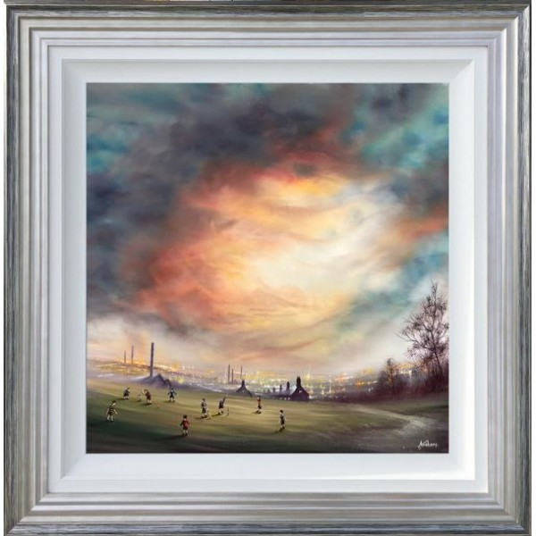 Danny Abrahams - I'm Batting Next (Canvas)