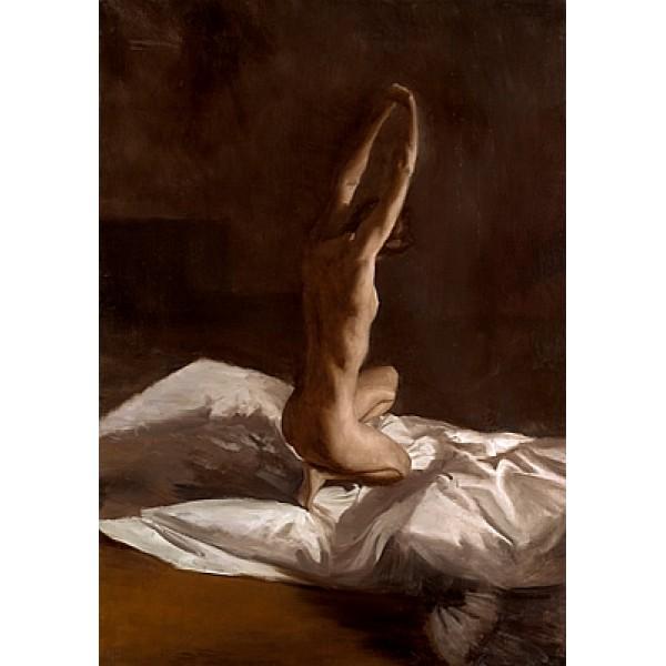 David Knight - Stretching Nude