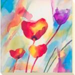 Deborah LaMotte - Tilt Tulips I Canvas Print