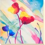 Deborah LaMotte - Tilt Tulips II Canvas Print