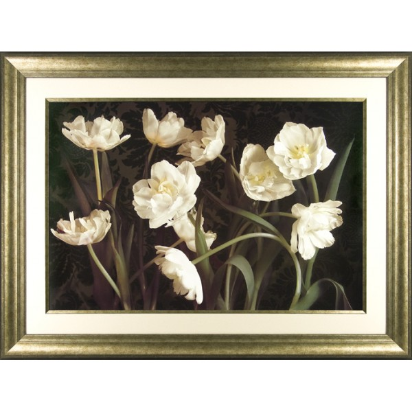 Donna Geissler - Bountiful Florals Framed Print