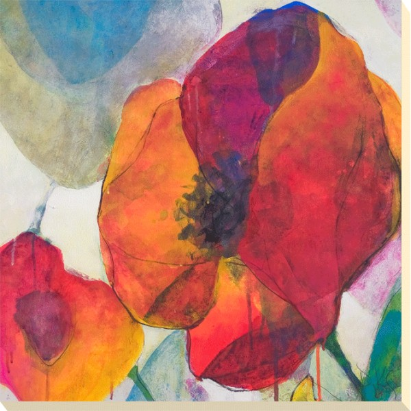 Doug Kennedy - Poppy Trio II Canvas Print