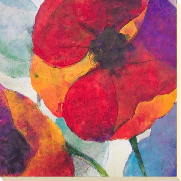Doug Kennedy - Poppy Trio III Canvas Print