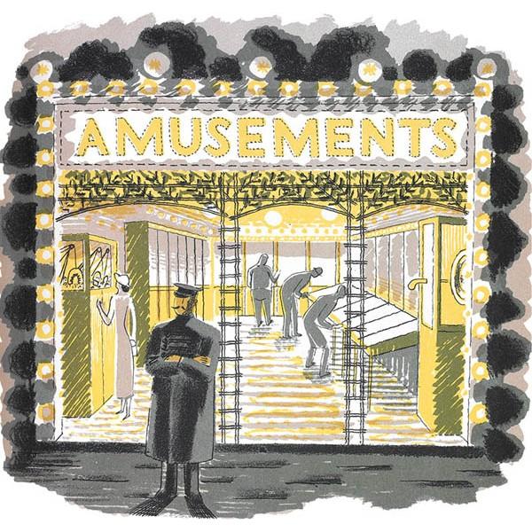 Eric Ravilious - Amusement Arcade