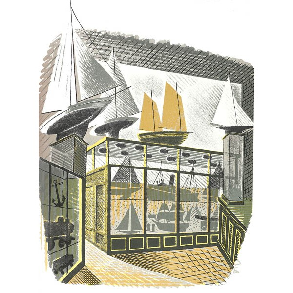 Eric Ravilious - Model Ships and Railways