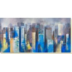 George Generali - Metropolis Vista II Canvas Print