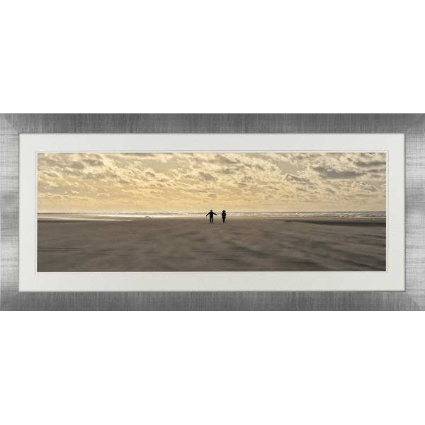 Georges Felix Cohen - All to ourselves Framed Print