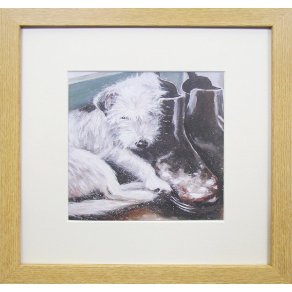 Animal Farm Dog Framed Print