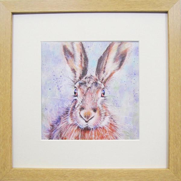 Animal Farm Hare Framed Print