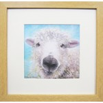 Animal Farm Sheep Framed Print