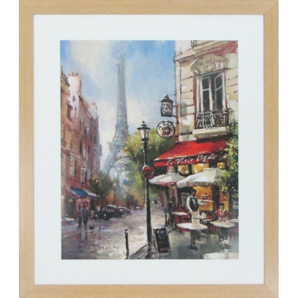 Cafe Du Paris I Framed Print