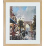 Cafe Du Paris II Framed Print