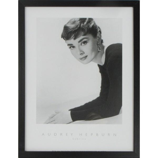 Audrey Hepburn I Framed Print