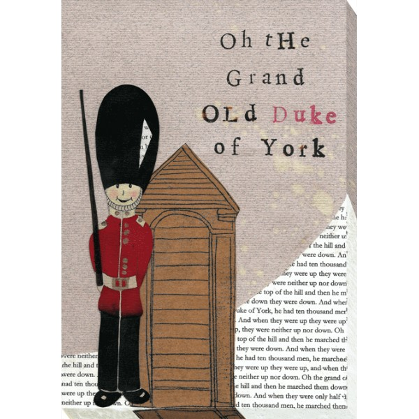 Helena Corbett - Nursery Rhymes - Grand Old Duke Canvas Print