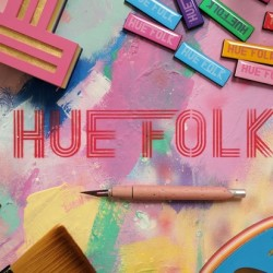 Hue Folk - Fantastic New Mixed Media Artwork
