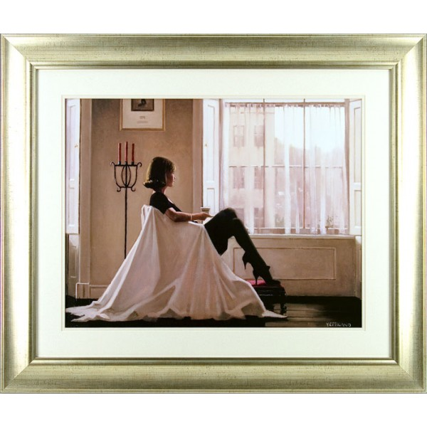 Jack Vettriano - In Thoughts of You (Small) Framed