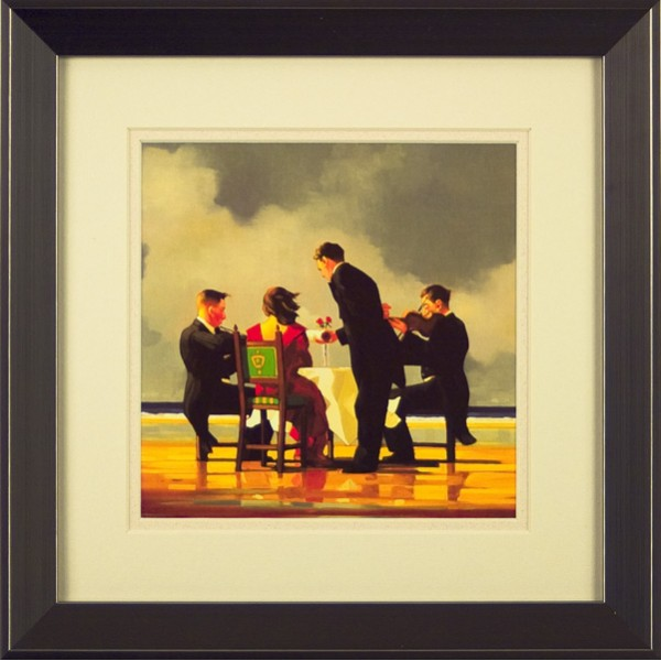 Jack Vettriano - Elegy for a Dead Admiral (Miniature) Framed
