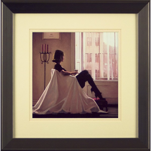 Jack Vettriano - In Thoughts of You (Miniature) Framed