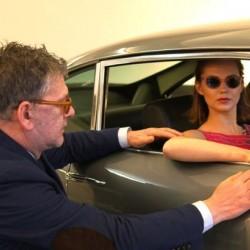 Former Eastenders actress Kara Tointon poses for Jack Vettriano