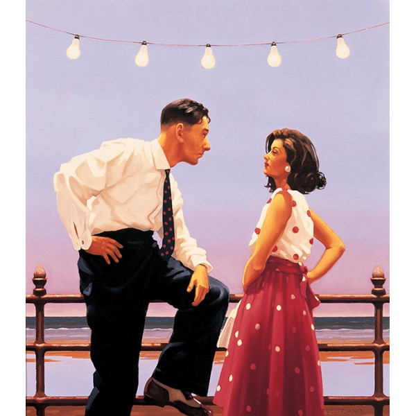 Jack Vettriano - The Big Tease