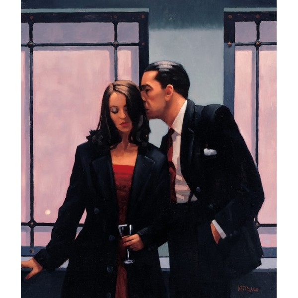 Jack Vettriano - Contemplation of Betrayal