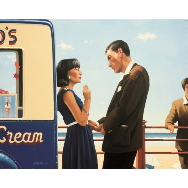 Jack Vettriano - The Lying Game