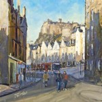 James Somerville Lindsay - Good Morning Grassmarket