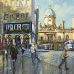 James Somerville Lindsay - Last Light on The Royal Mile