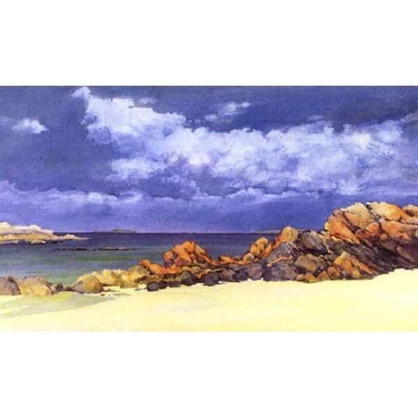 Jan Fisher - North from Calva Beach, Iona