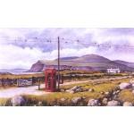 Jan Fisher - Red Phone Box, Ross of Mull