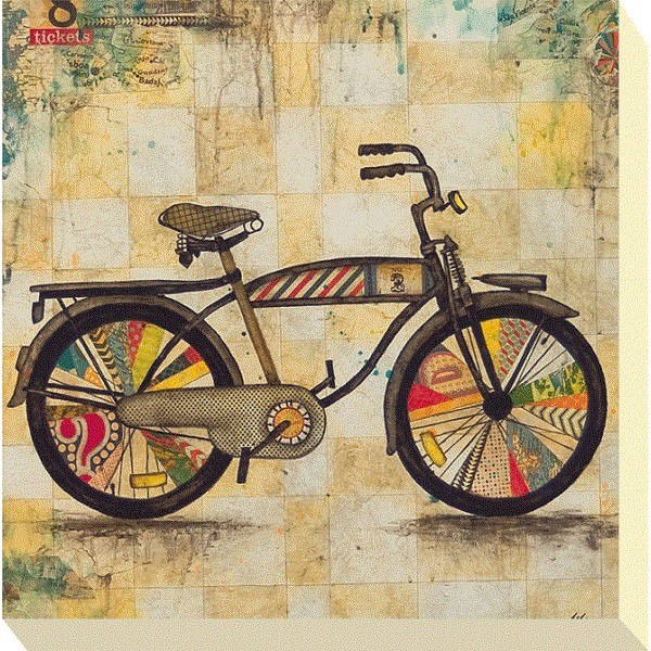 Jennifer Wagner - Ride I Canvas Print