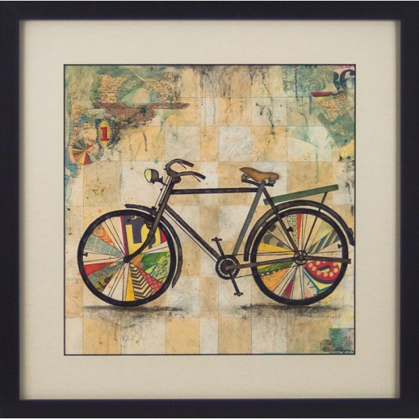 Jennifer Wagner - Ride II Framed Print
