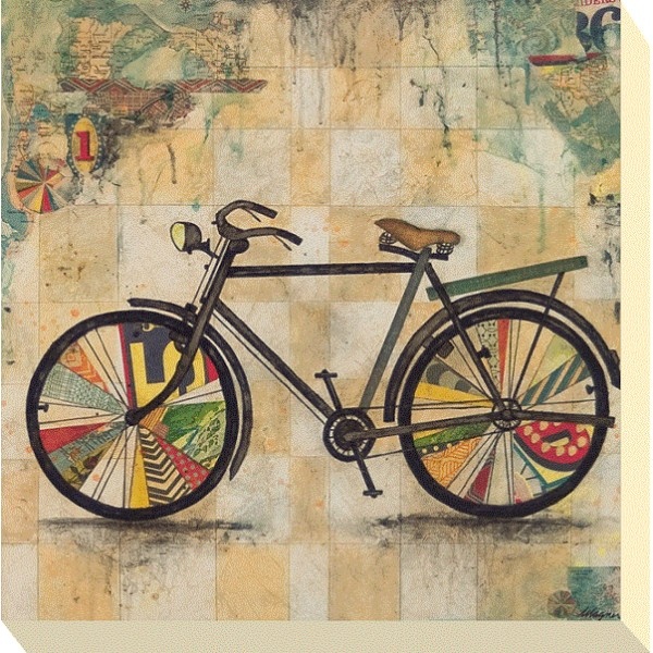 Jennifer Wagner - Ride II Canvas Print