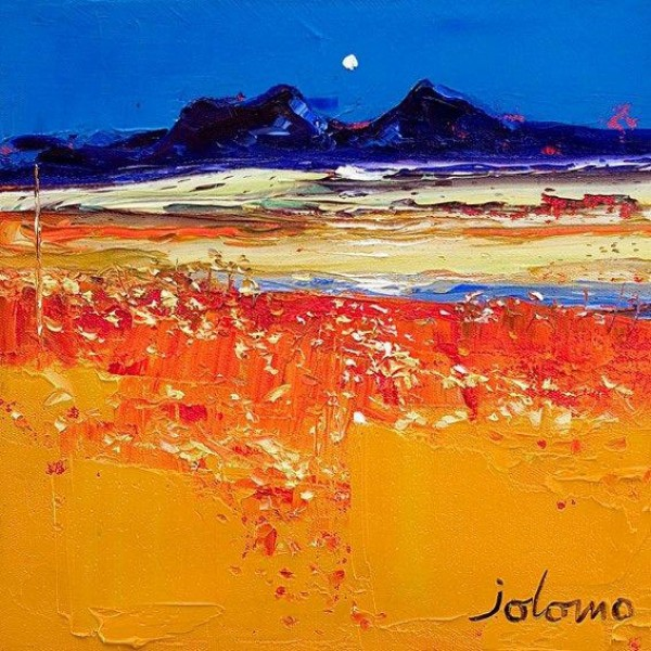 John Lowrie Morrison - Autumn Evening Isle of Colonsay (Small)