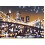 Kate Carrigan - New York Lights II Canvas Print